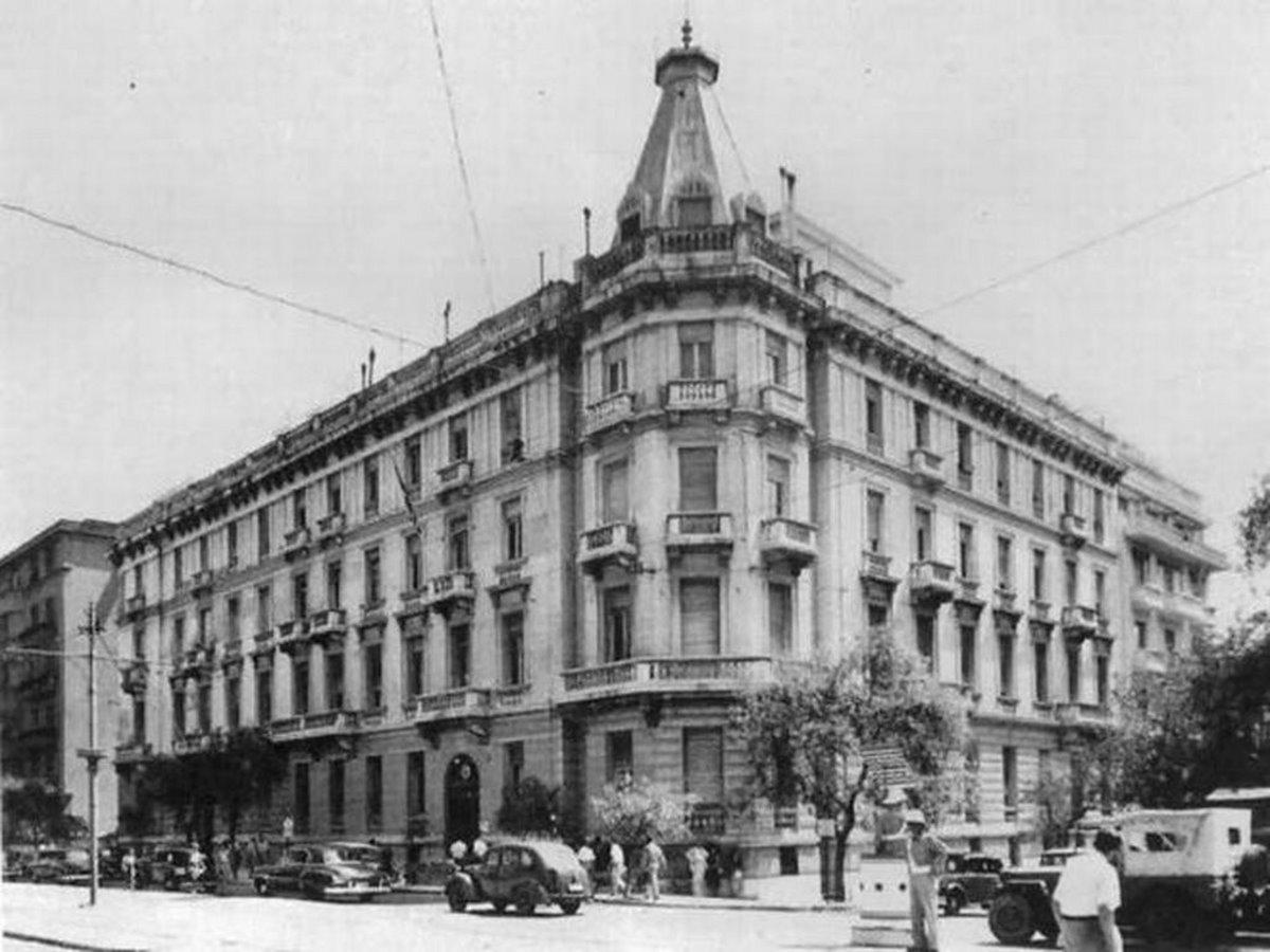Παλιά Αθήαν κτήρια που δεν υπάρχουν πια Μέγαρο Πεσματζόγλου