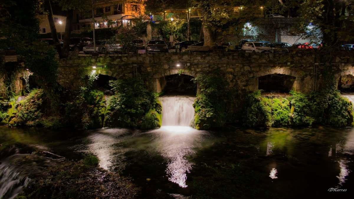 Πηγές Κρύας Λειβαδιά 1 μονοήμερη 4 στάσεις Στερεά Ελλάδα βραδινή λήψη