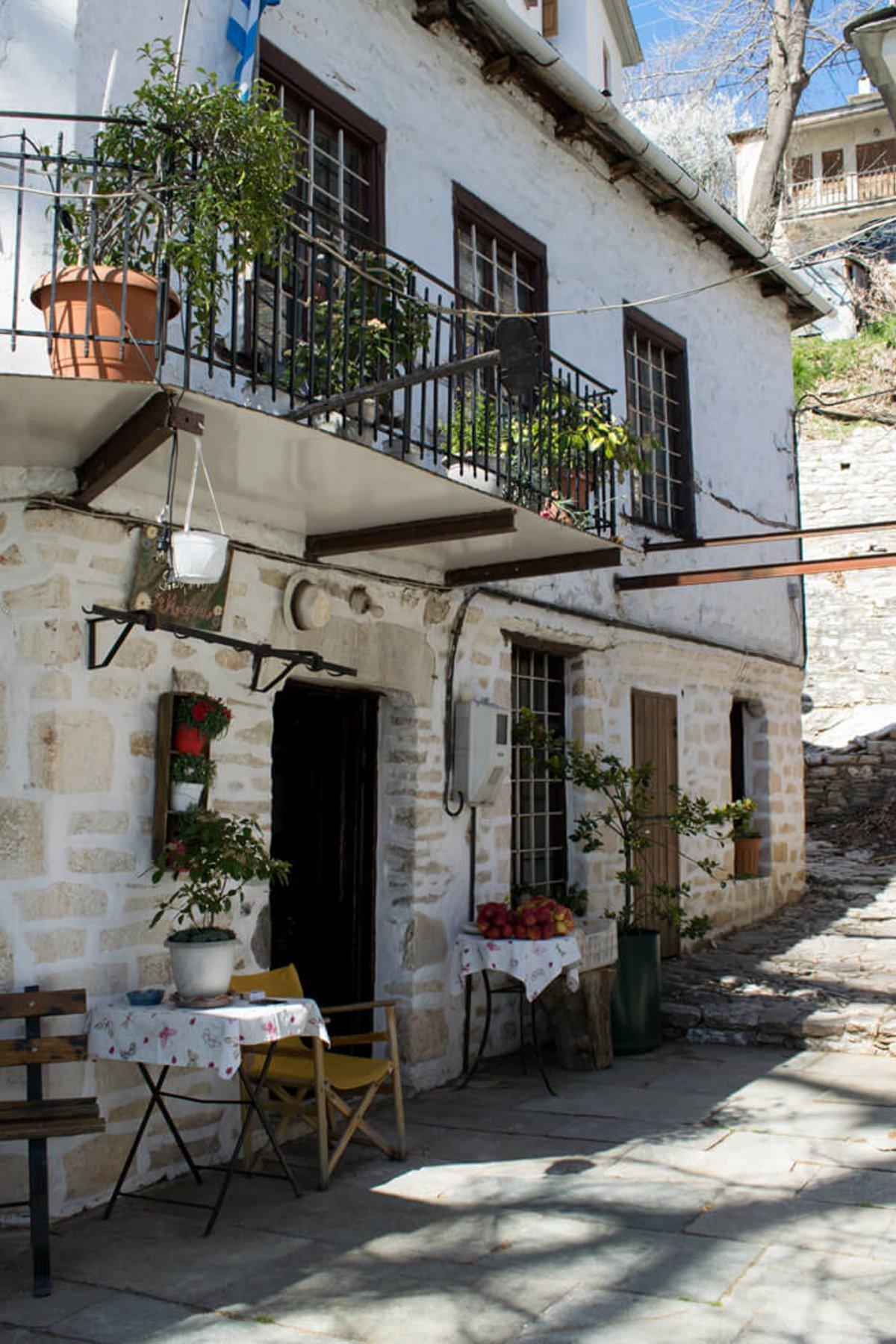 Πινακάτες χωριό Πήλιο παραδοσιακά σπίτια