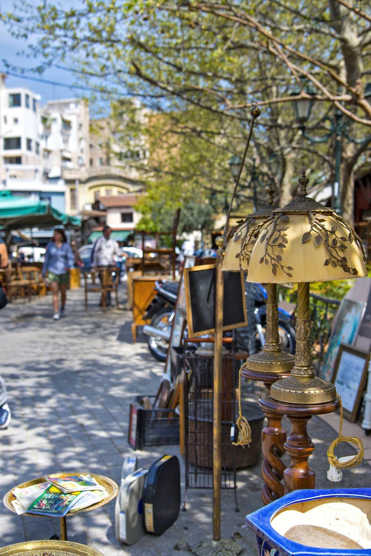 Πλατεία Αβησσυνίας, υπαίθρια αγορά