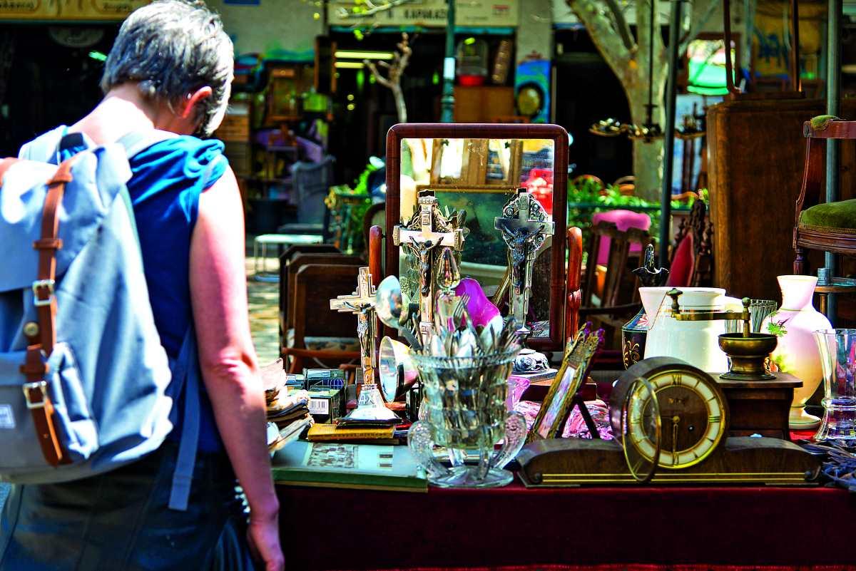 Πλατεία Αβησσυνίας, παλιά αντικείμενα