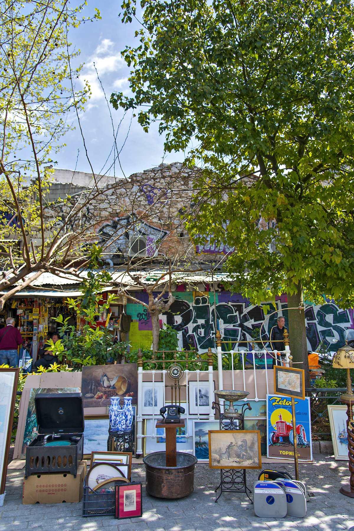 Πλατεία Αβησσυνίας, πίνακες