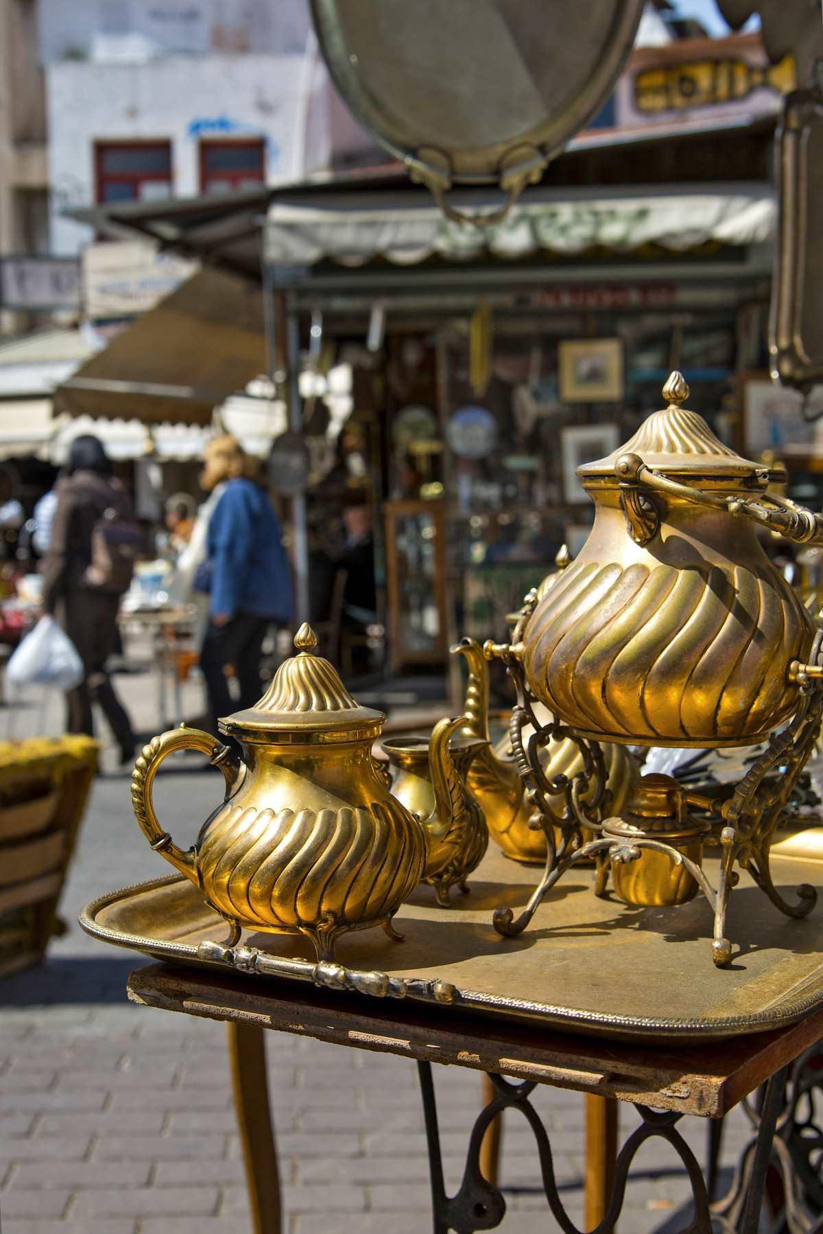 Πλατεία Αβησσυνίας, vintage αντικείμενα