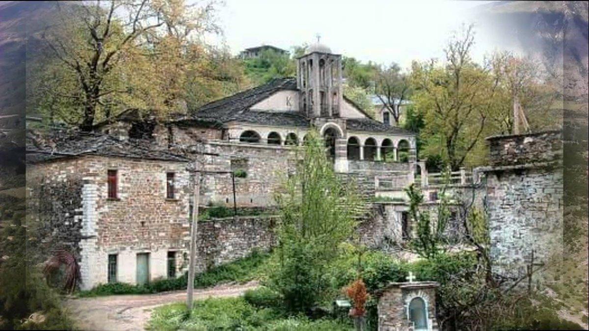 Πωγώνι ακριτικό χωριό Ηπείρου πέτρινη εκκλησία