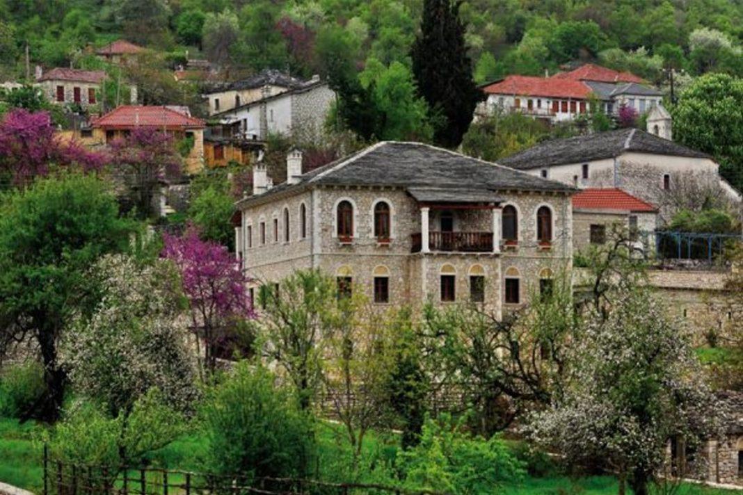 Πωγώνι ακριτικό χωριό Ηπείρου πέτρινα σπίτια