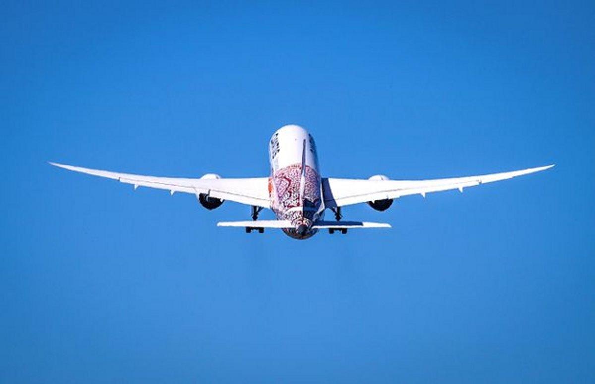 Qantas πτήση στο πουθενά απογείωση αεροπλάνου