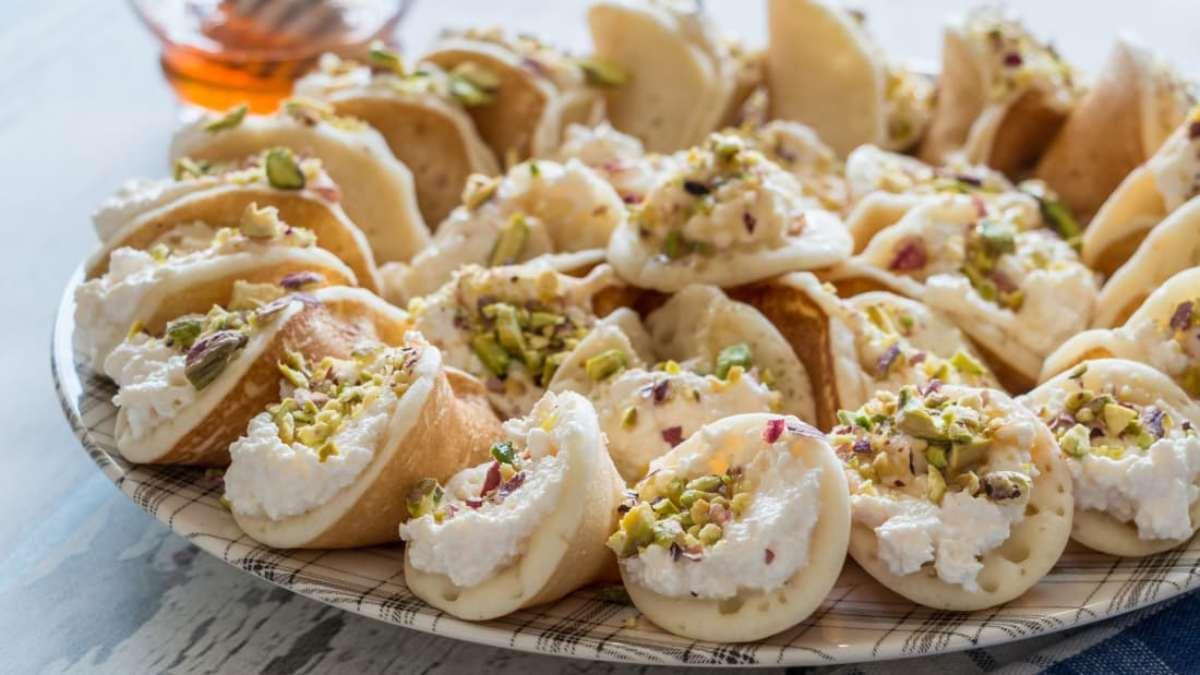 Qatayef, Μέση Ανατολή άγνωστο γλυκό