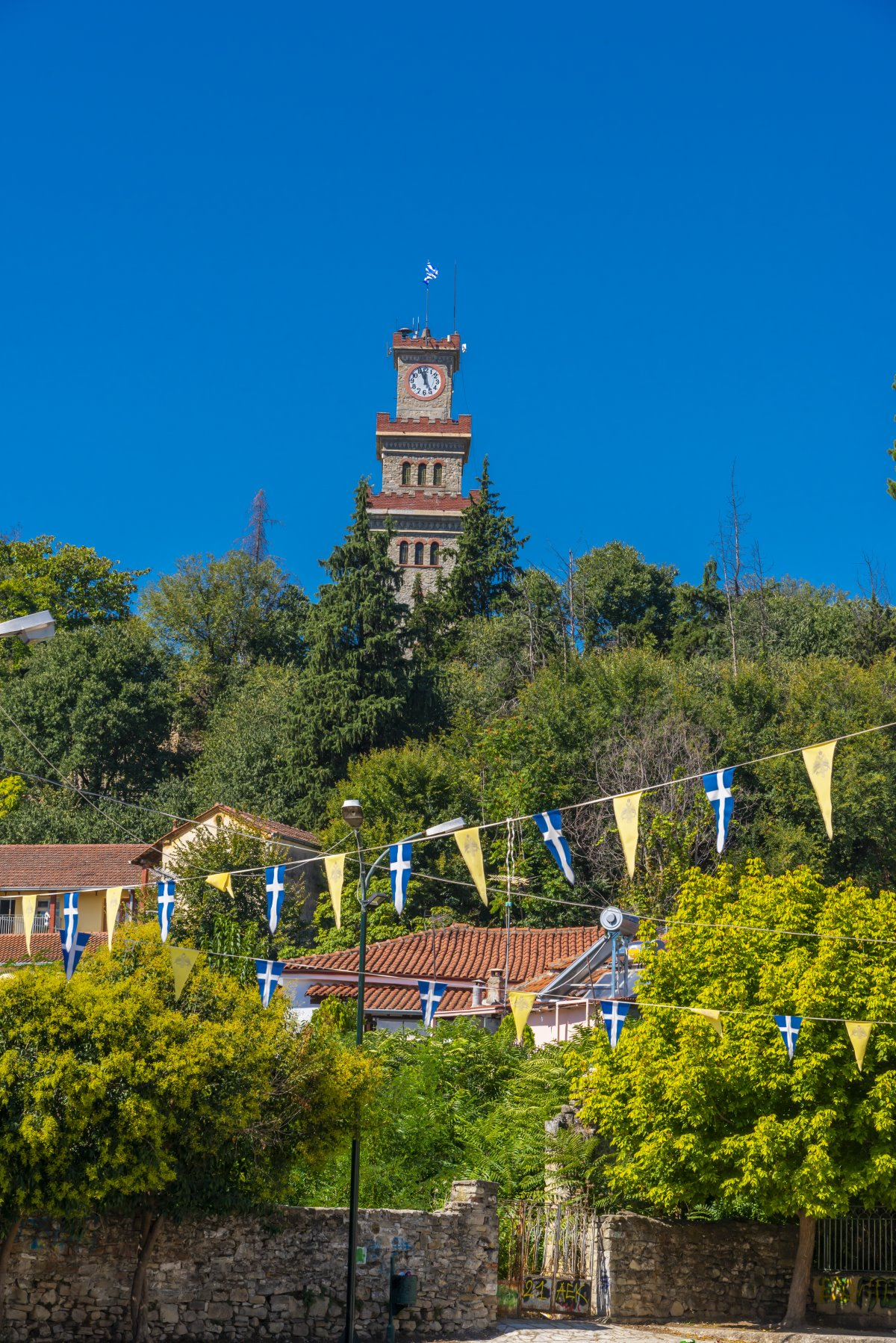 Ρολόγια σε Πύργο με των Τρικάλων να ξεχωρίζει στην πόλη