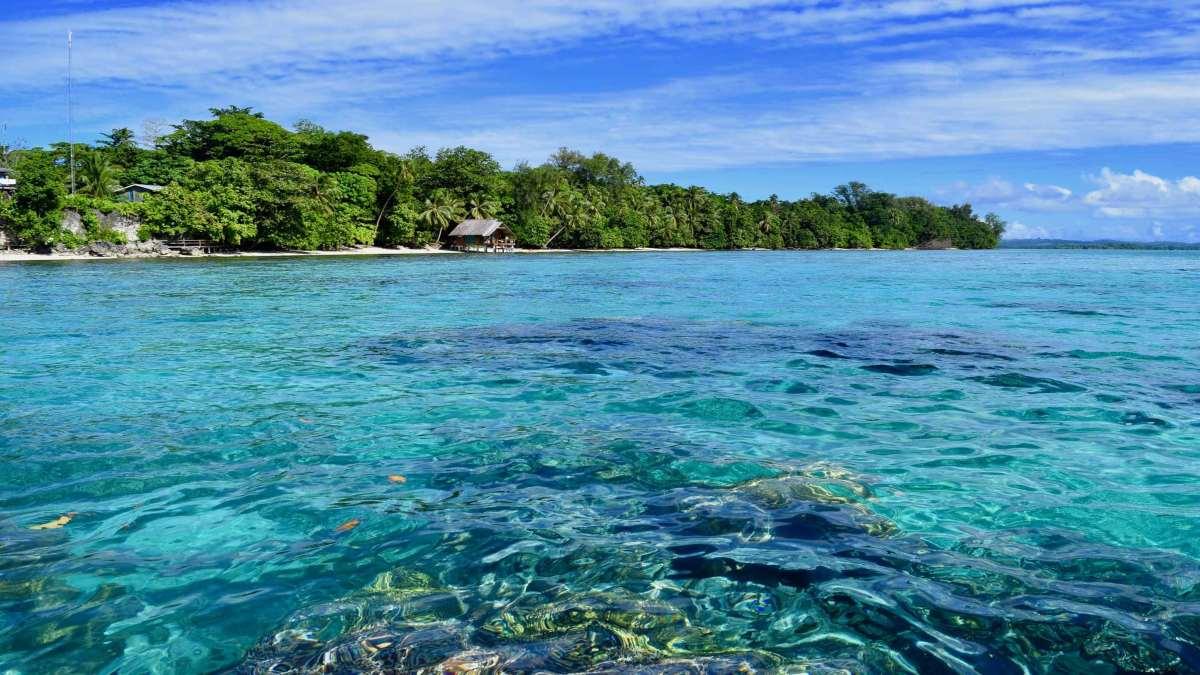 νησιά σολομώντα εξωτική παραλία
