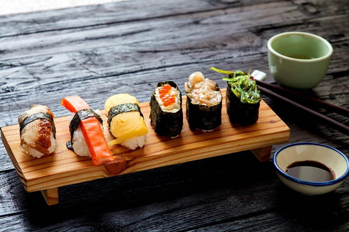 Σούσι top εμπειρία στο Τόκιο