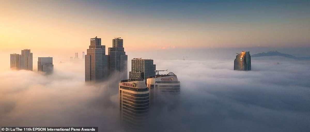 Ο Κινέζος φωτογράφος Ντι Λου κάλεσε αυτό το στιγμιότυπο της πόλης Qingdao