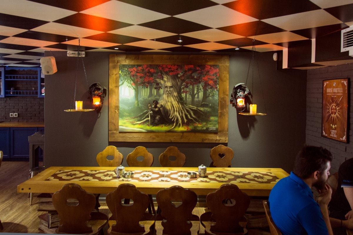 Θεματικό cafe Αθήνα Cap cap εσωτερικό