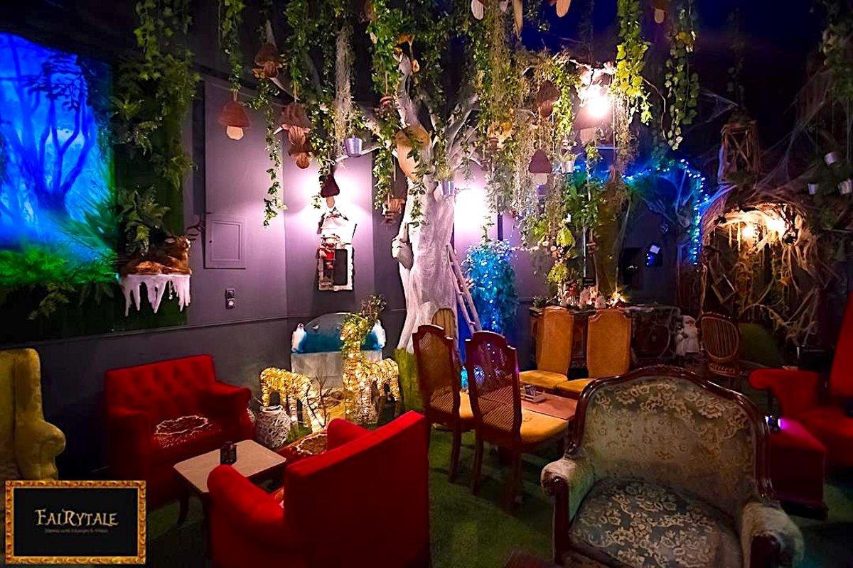 Θεματικό cafe Αθήνα Fairytale εσωτερικό