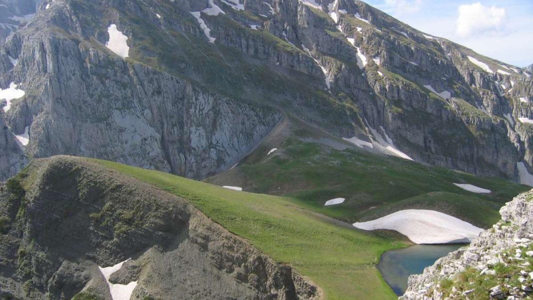 Τύμφη βουνό ορεινές διαδρομές