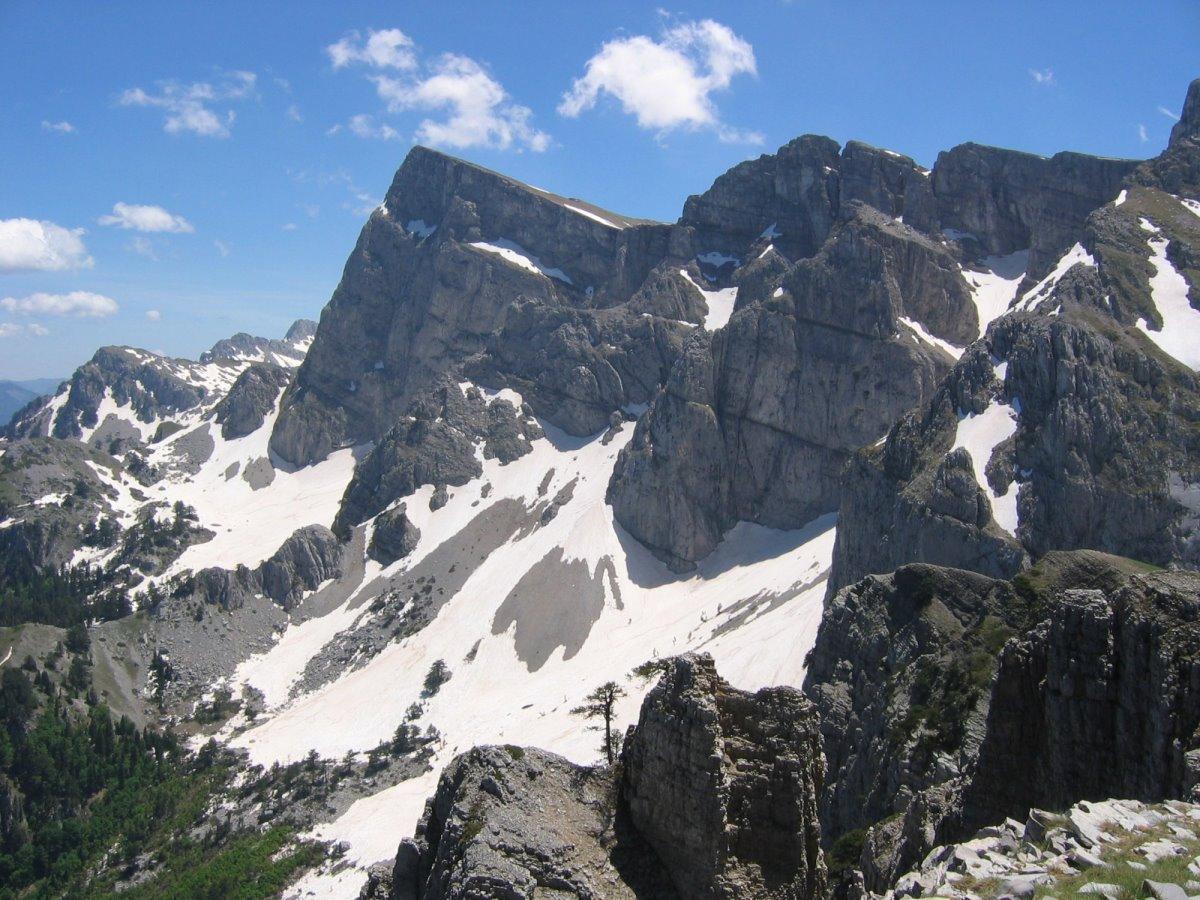 Τύμφη ταξίδι σε 6 βουνά της Ελλάδας με χιόνια