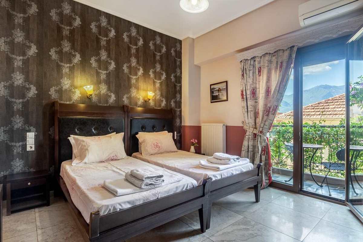 toti boutique hotel κρεβάτι δίκλινο