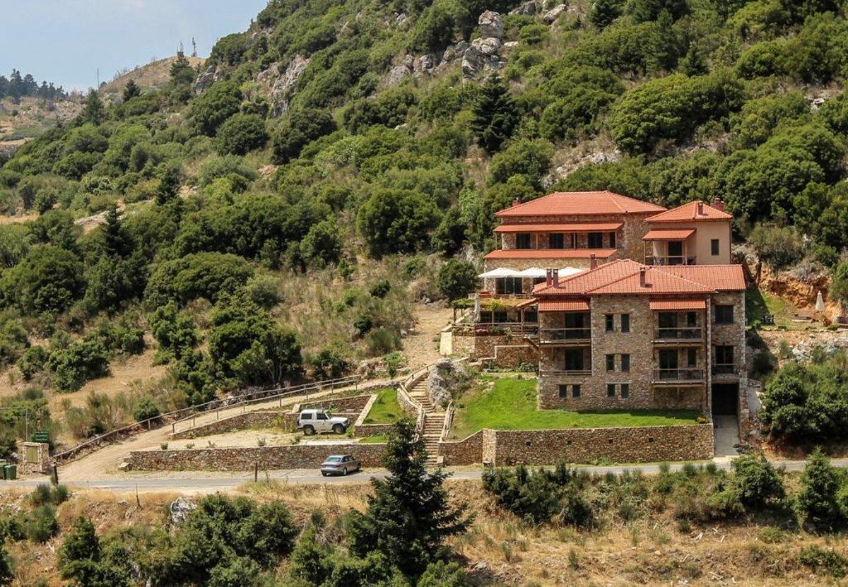 Τζίτζινα χωριό Λακωνίας με τον ξενώνα Πρυτανείο με 9,5 βαθμολογία