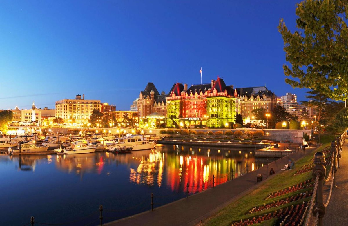 Βρετανική Κολομβία Καναδάς καλύτερη μικρή πόλη Βικτώρια