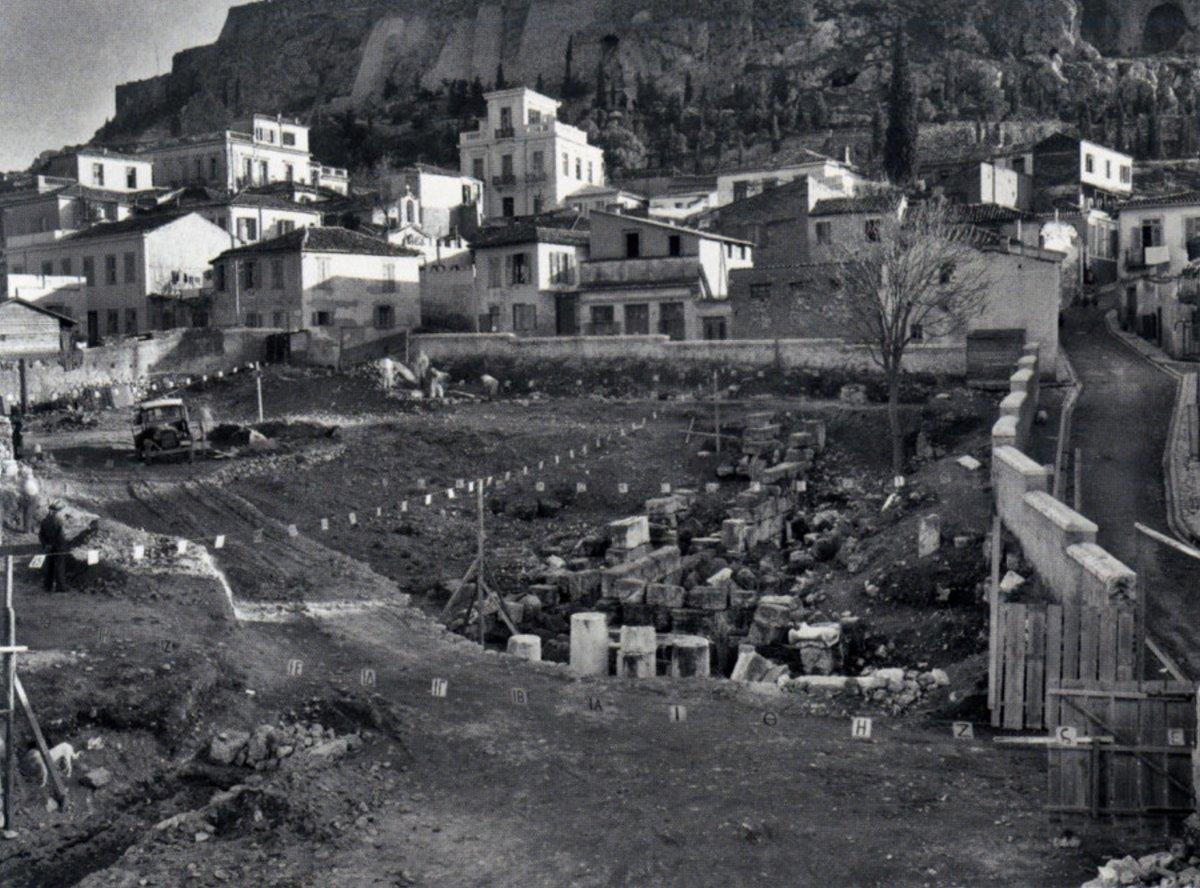 Η γειτονιά Βρυσάκι κάτω από την Ακρόπολη που γκρεμίστηκε και οι πρώτες ανασκαφές της