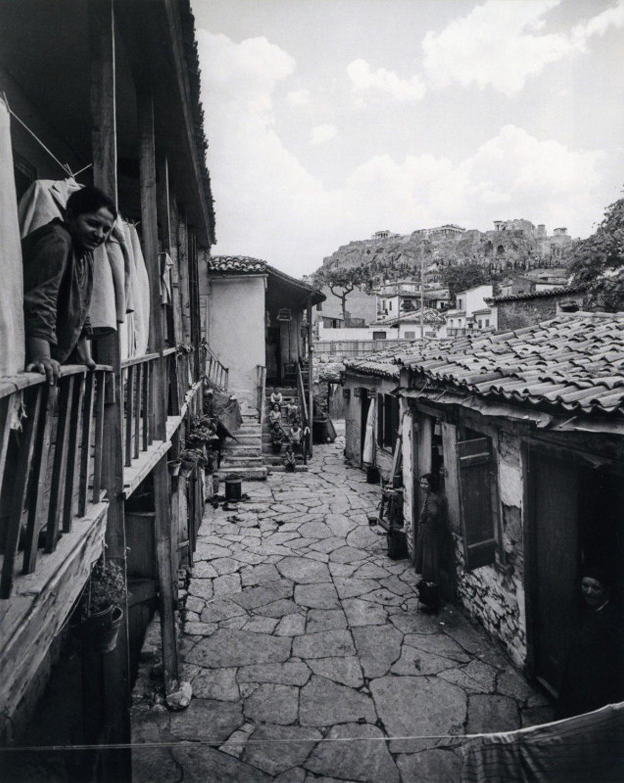 Η γειτονιά Βρυσάκι κάτω από την Ακρόπολη που γκρεμίστηκε με παλιά σπίτια της