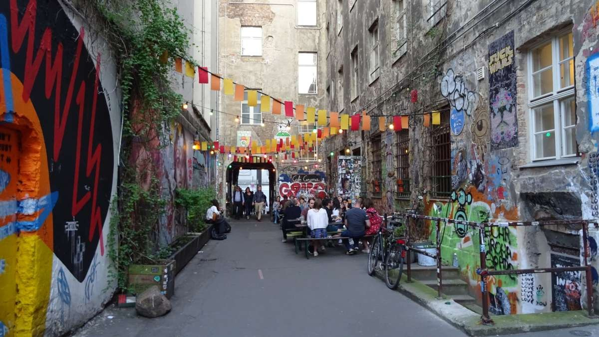 Wedding, Βερολίνο όμορφες γειτονιές στενάκι καφέ