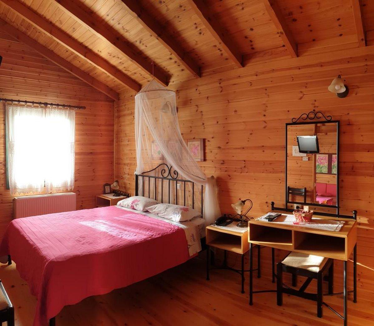 Ξενώνας με θέα Αλαγονία δωμάτιο