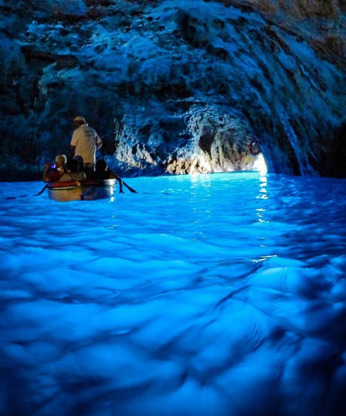 Blue Grotto, Κάπρι, Ιταλία