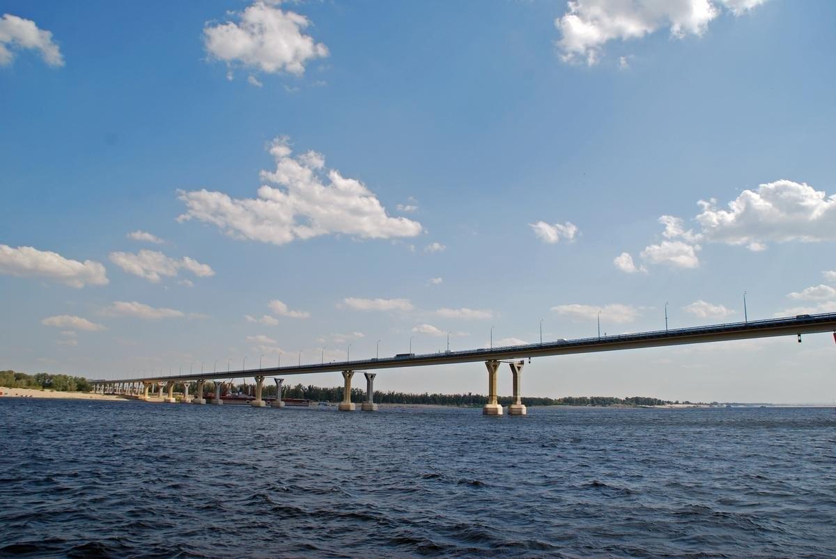 Γέφυρα Volgograd, Ρωσία