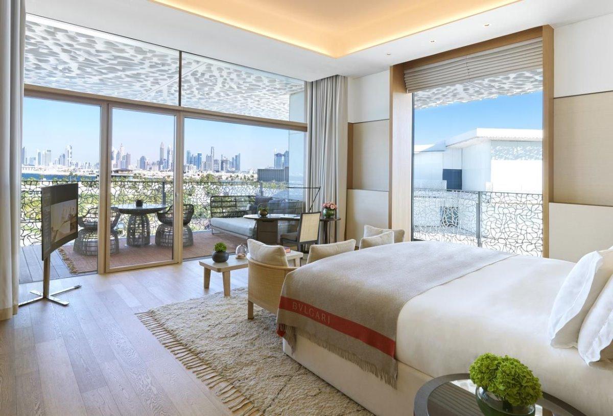Bvlgari Resort Dubai το πιο ακριβό ξενοδοχείο σε τεχνητό νησί πολυτελές δωμάτια