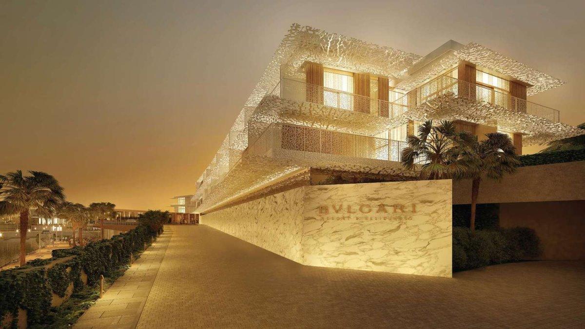Bvlgari Resort Dubai το πιο ακριβό ξενοδοχείο σε τεχνητό νησί είσοδος