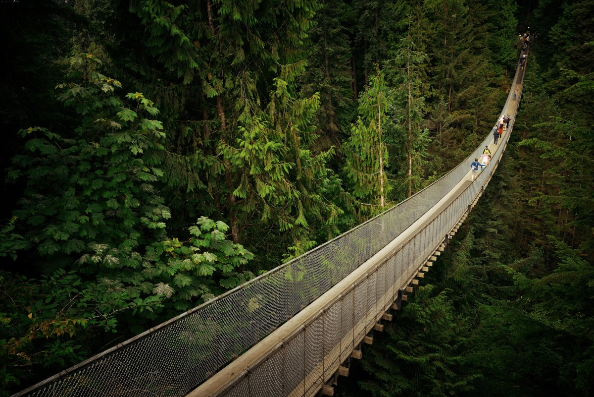 Capilano Bridge, Καναδάς