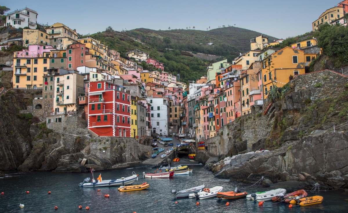 Riomaggiore, το πιο χρωματιστό χωριό της Ευρώπης