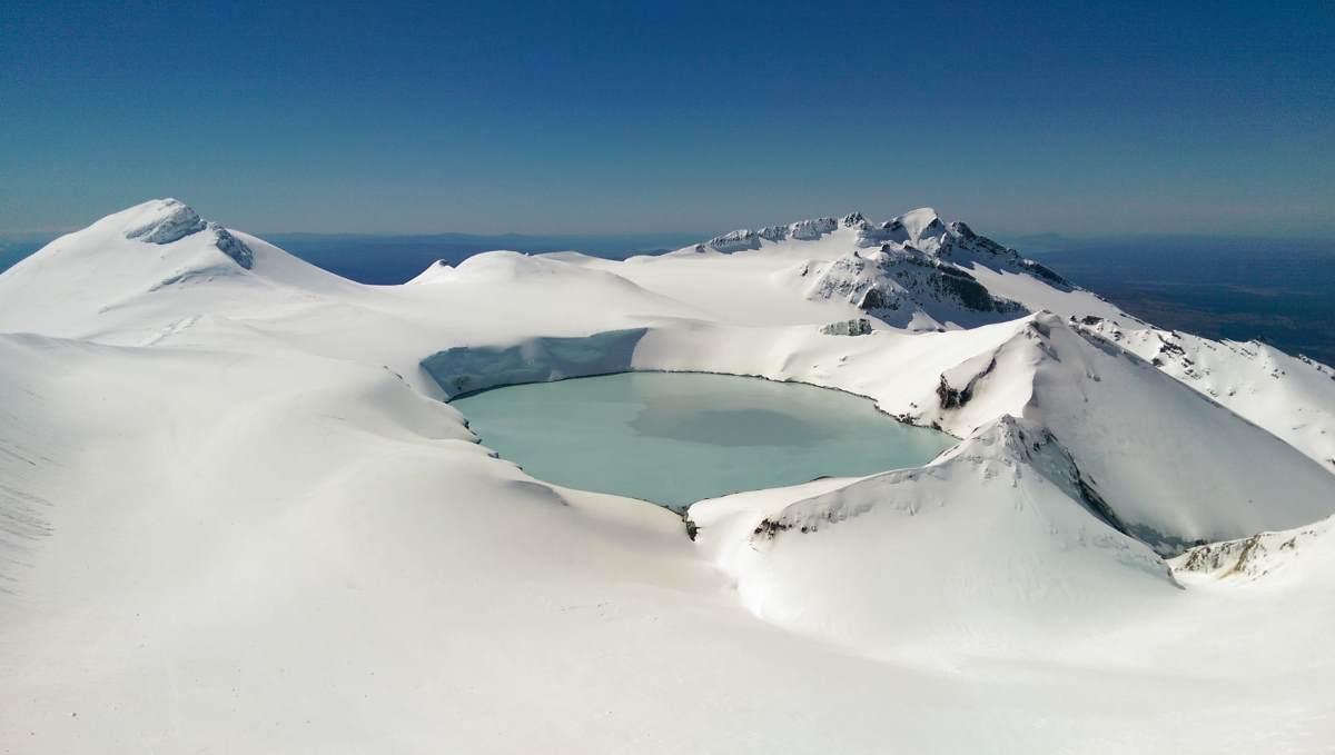 rater Lake-volcano Ruapehu, Νέα Ζηλανδία