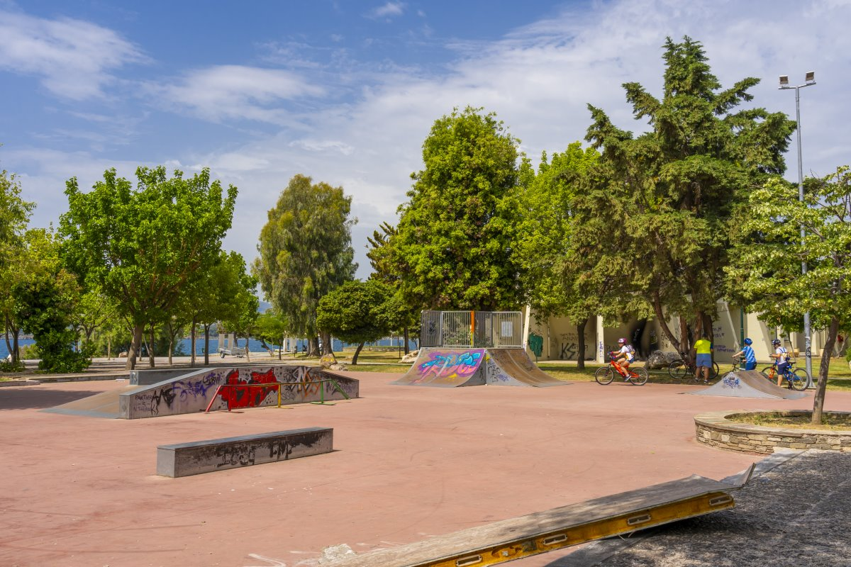 πάρκο στον Βόλο που είναι η πιο βροχερή πόλη