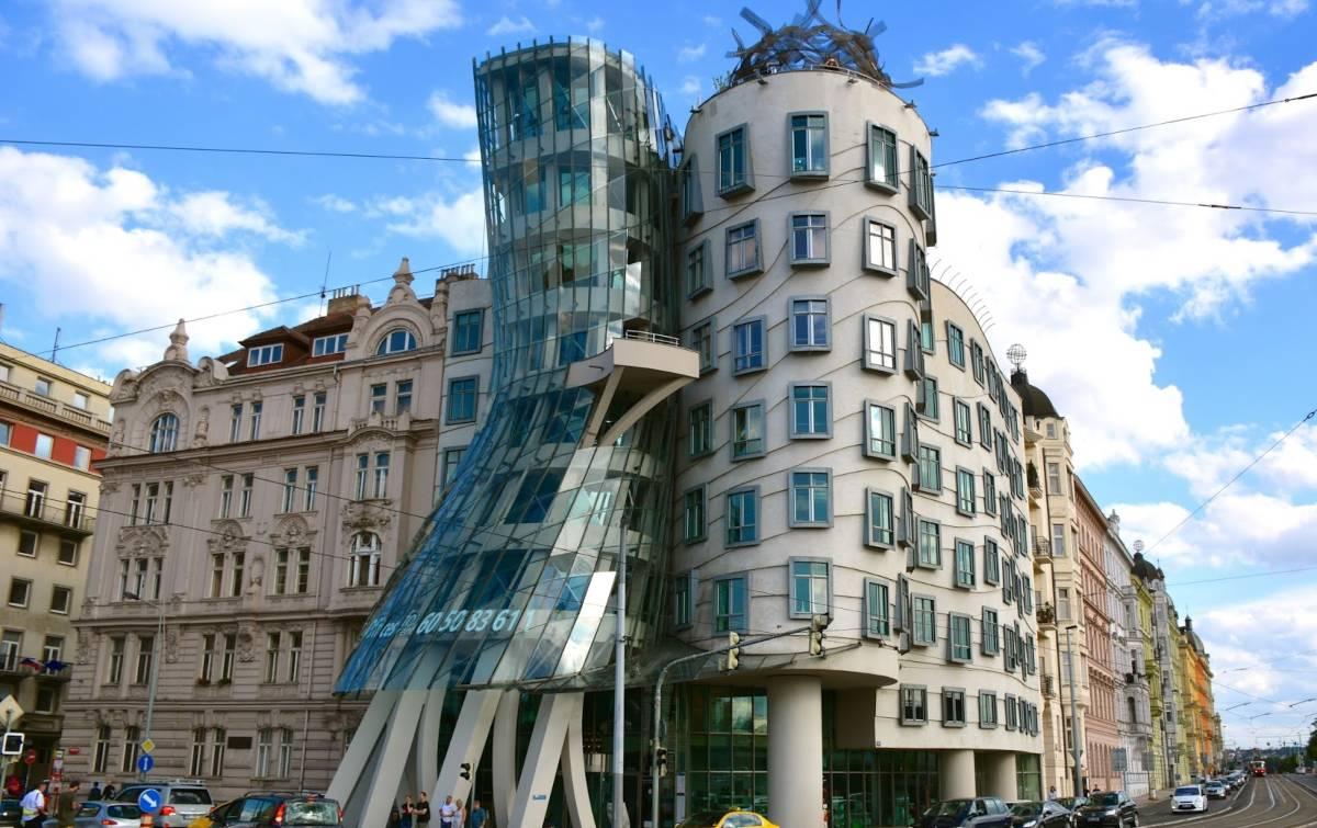 Το σπίτι που χορεύει στην Πράγα