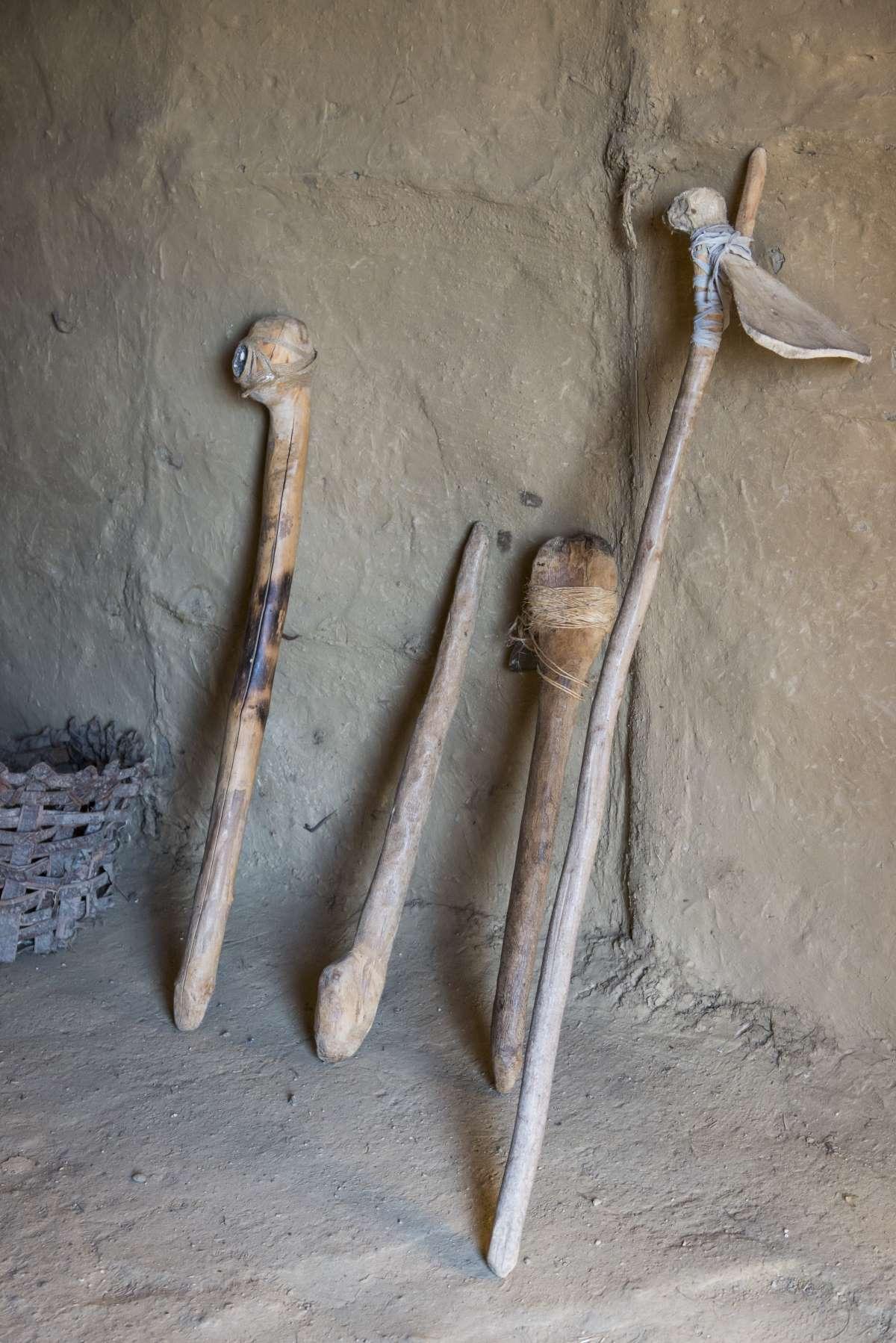 Δισπηλιό Καστοριάς  όπλα της εποχής