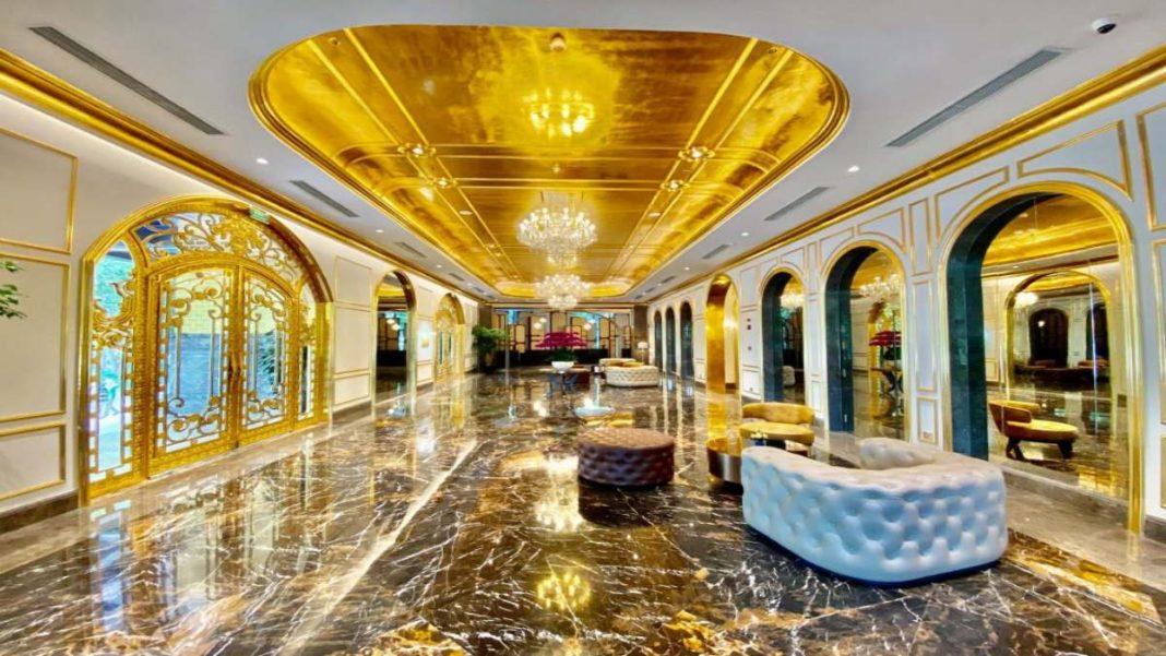 Επίχρυσο ξενοδοχείο Ανόι εξωφρενική χλιδή