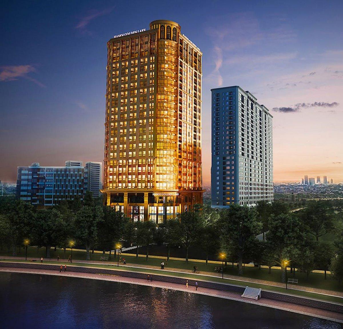 Επίχρυσο ξενοδοχείο Ανόι εξωφρενική χλιδή πανοραμική λήψη