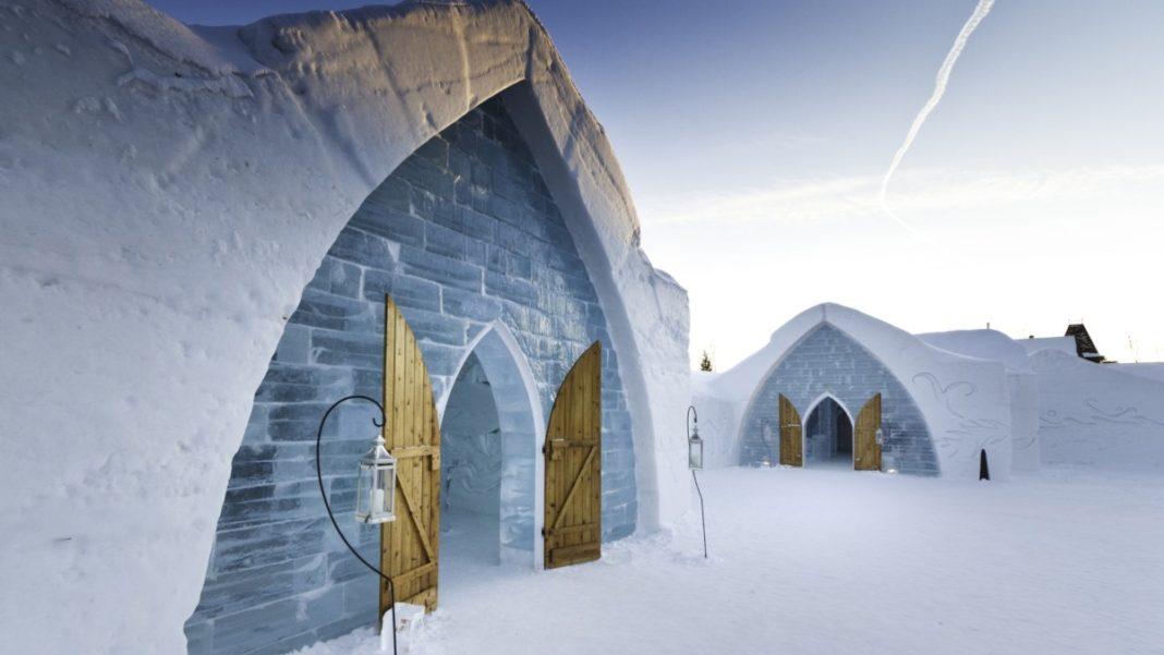 Ξενοδοχείο από πάγο Καναδάς