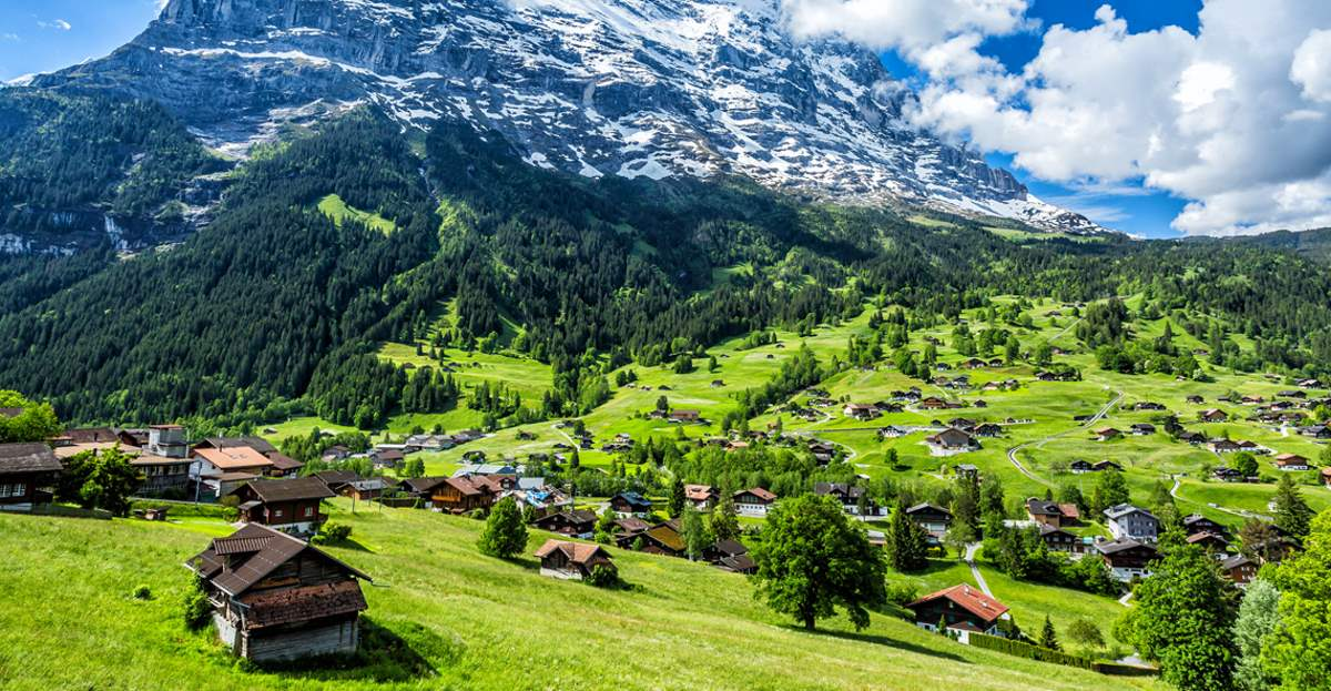 Grindewald, Ελβετία, ένα από τα ομορφότερα χωριά της Ευρώπης