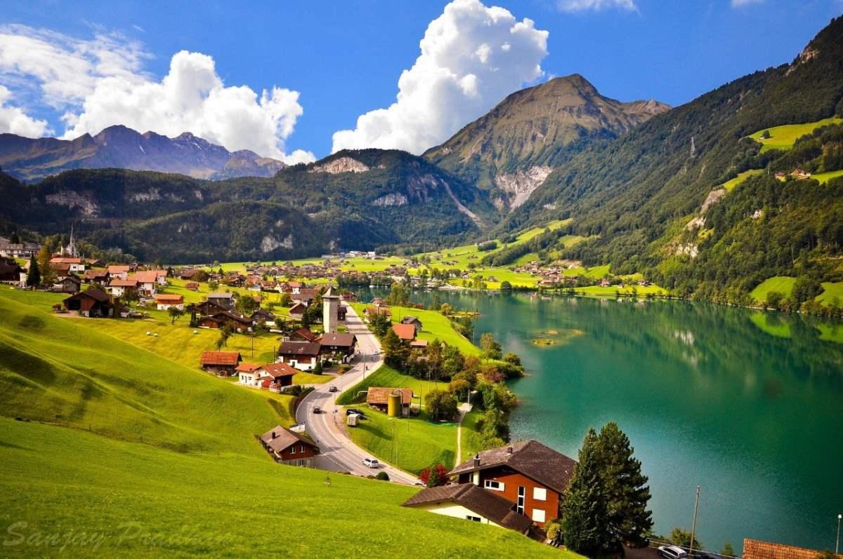 Grindewald, Ελβετία, πανοραμική