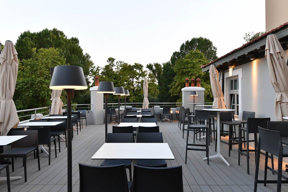 Hydrama Grand hotel εξωτερικός χώρος