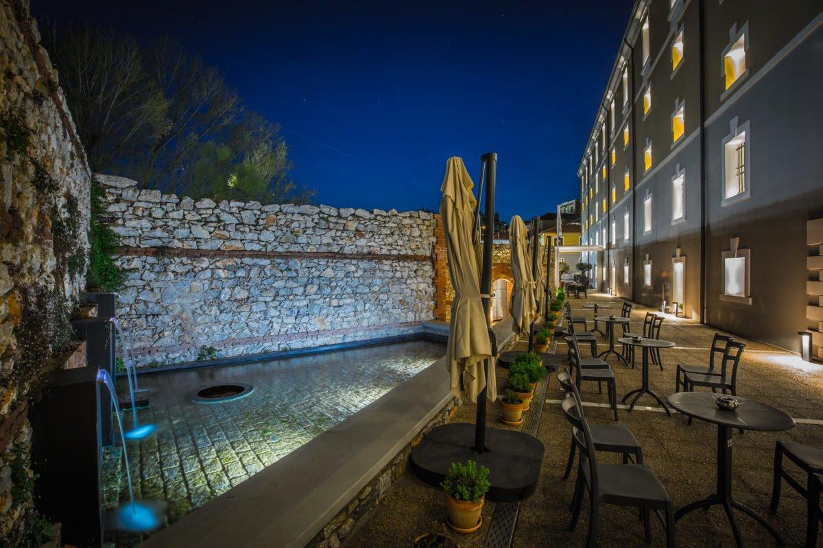Hydrama Grand hotel cafe bar εξωτερικό
