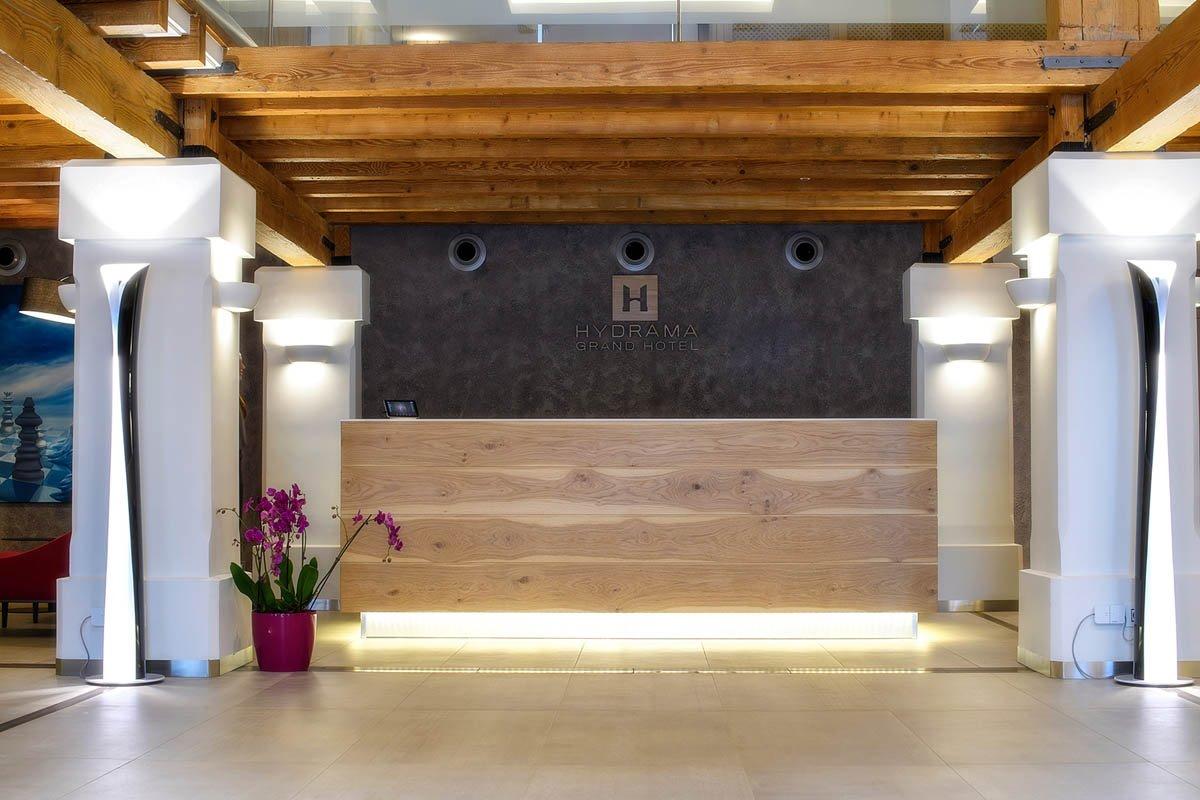Hydrama Grand hotel υποδοχή
