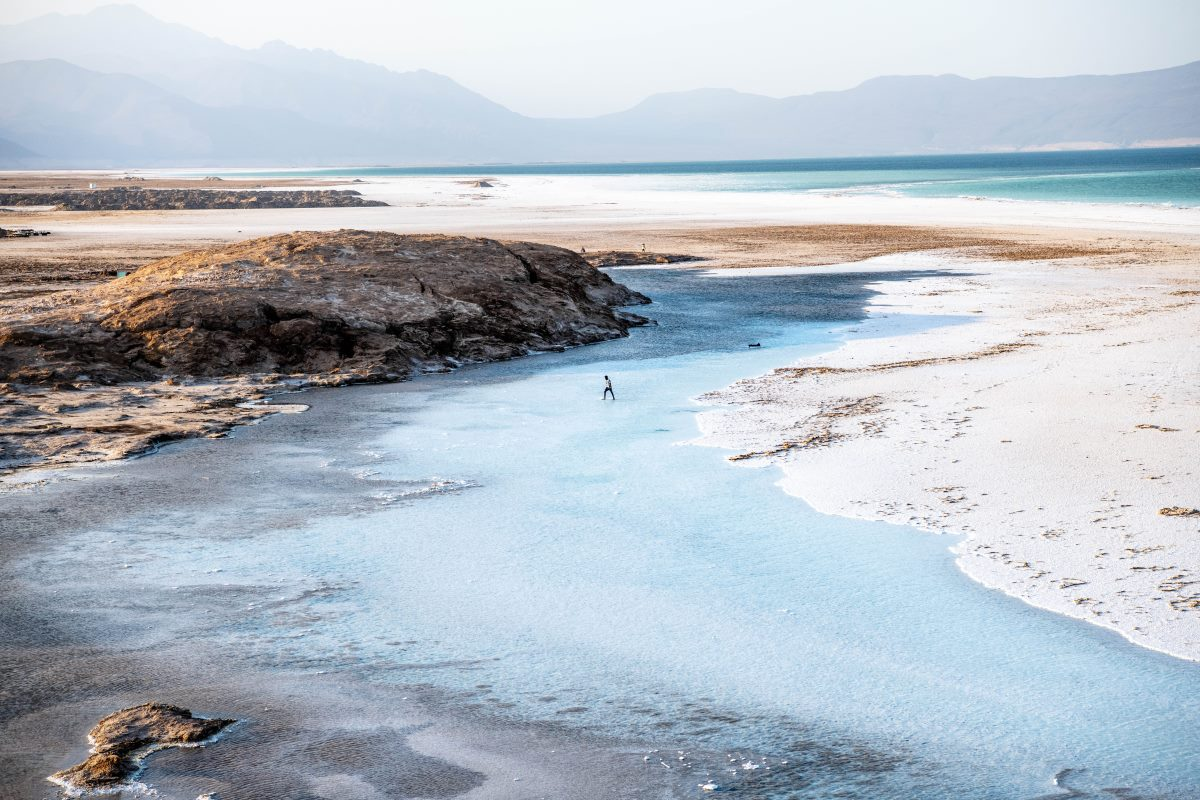 Lake Assal, Τζιμπουτί