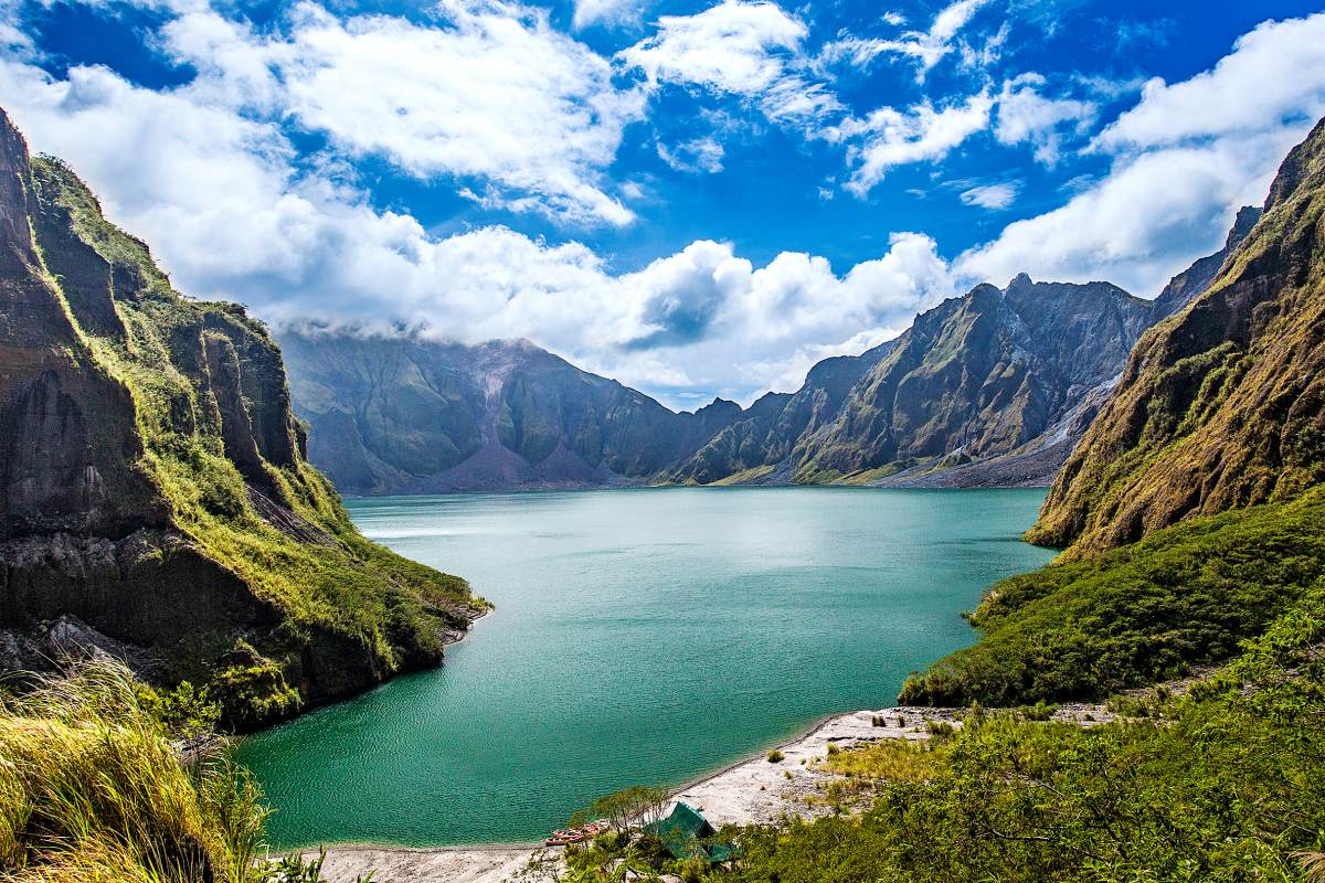 Λίμνη Pinatubo Φιλιππίνες