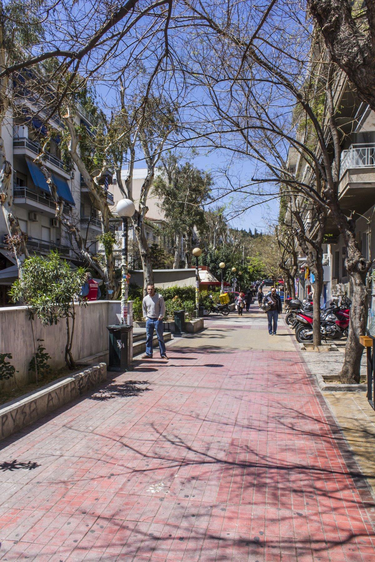 Κουκάι Αθήνα πεζόδρομος
