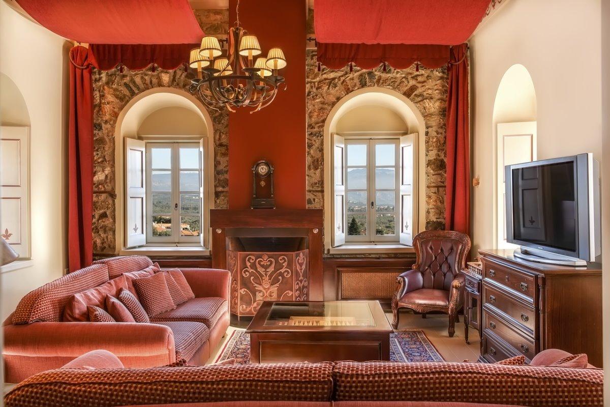 Pyrgos Mystra, lounge