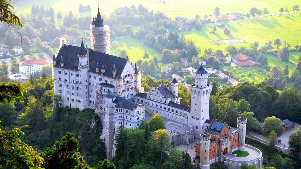 Kάστρο Neuschwanstein, Γερμανία