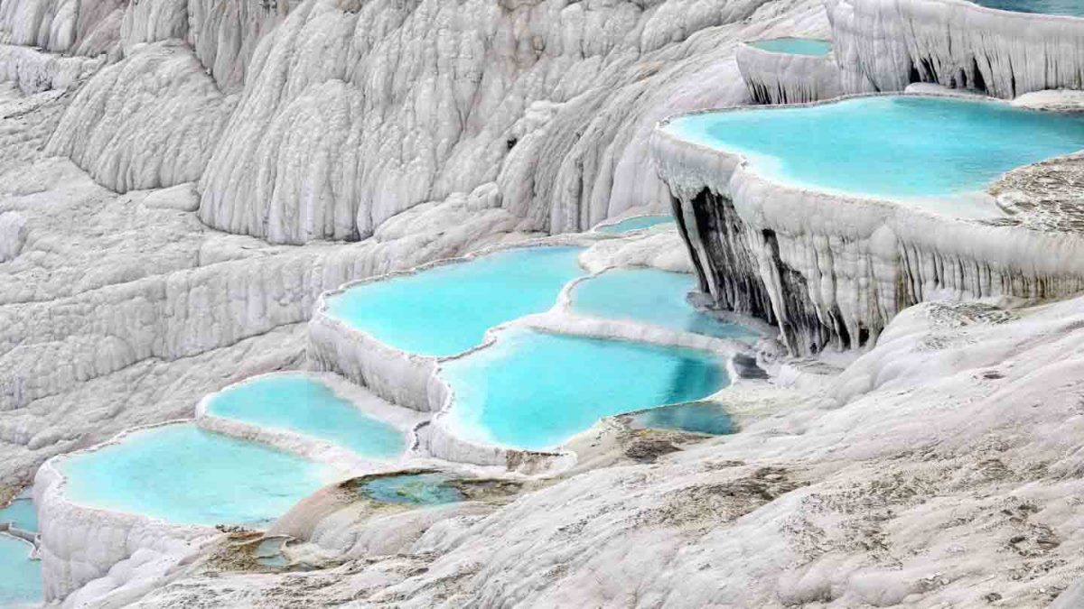 Pamukkale Thermal Pools,Τουρκία